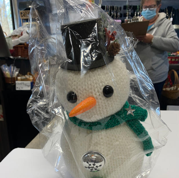 Small Snowman with Bells