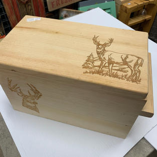 Buck - Laser Engraved Box