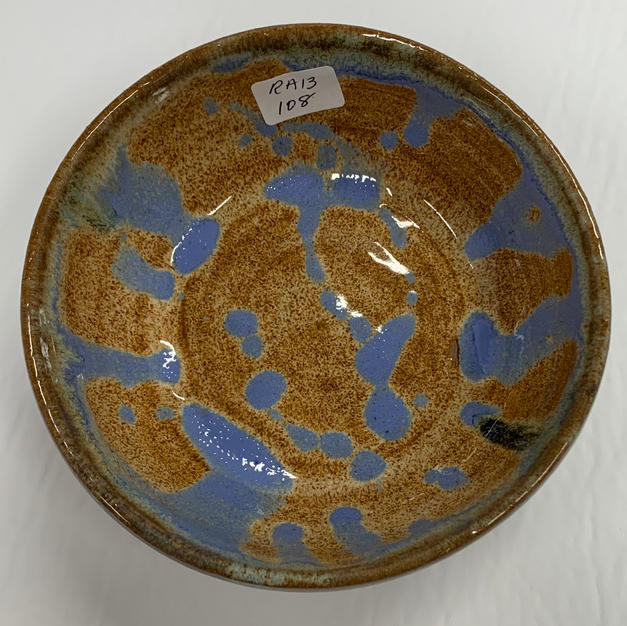 Pottery Bowl #108 - TOP VIEW
