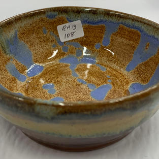 Pottery Bowl #108 - SIDE VIEW