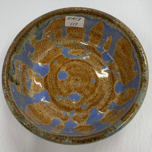 Pottery Bowl 117 - TOP VIEW