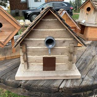 Bird House - Lg - 12.5 x 11 x 13