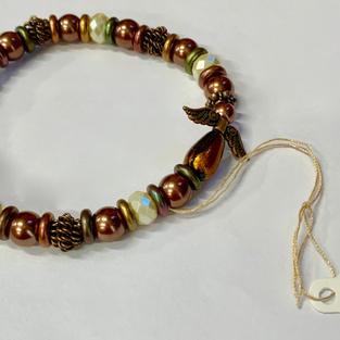 Angel Bracelet - Copper / Bead