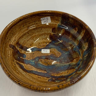 Pottery Bowl #103 - TOP VIEW