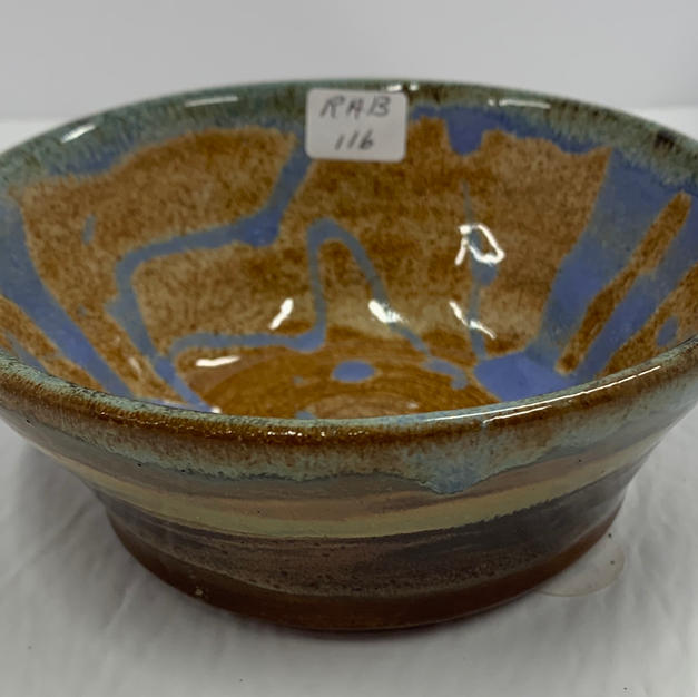 Pottery Bowl #116 - SIDE VIEW