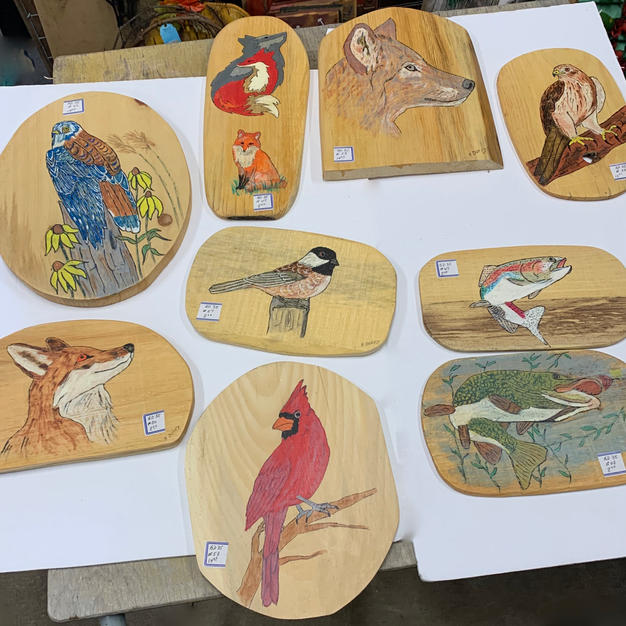 Various Animal Plaques