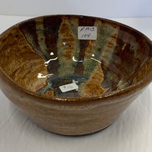 Pottery Bowl #104 - SIDE VIEW