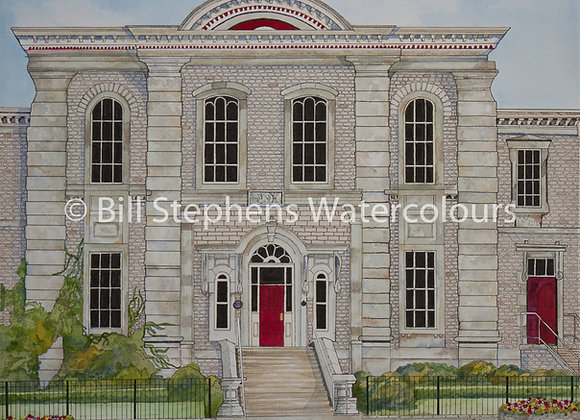 Original Watercolour - Mackenzie Hall - Windsor Collection