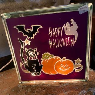 Glass Lights - Halloween