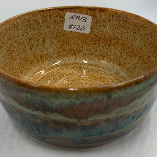 Pottery Bowl 120 - SIDE VIEW
