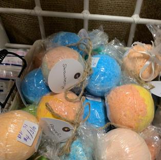Various Bath Bombs