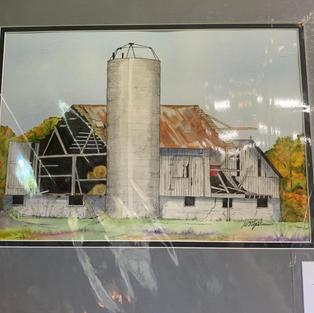 Elgin County Barn - Original Watercolour - (16x20)