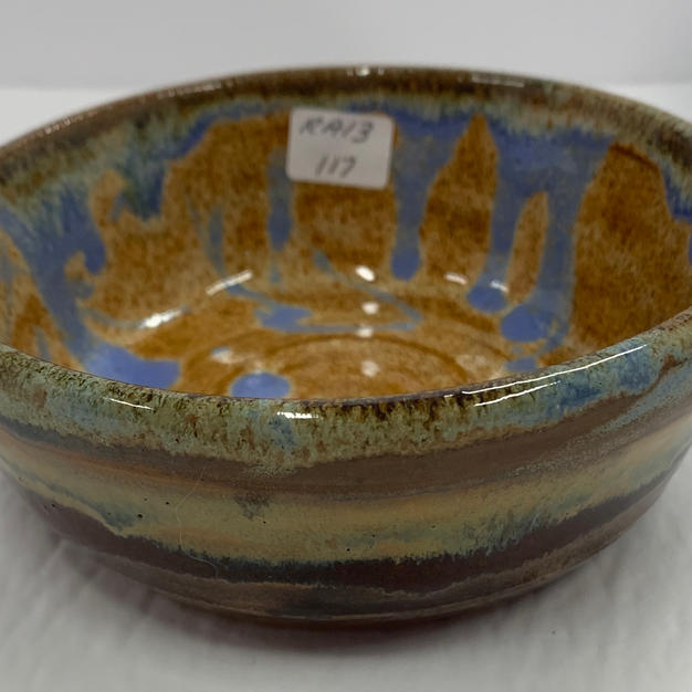 Pottery Bowl #117 - SIDE VIEW
