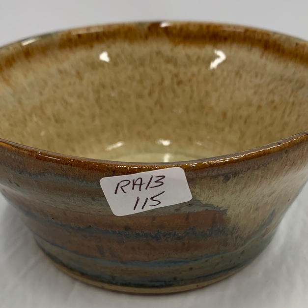 Pottery Bowl #115 SIDE VIEW