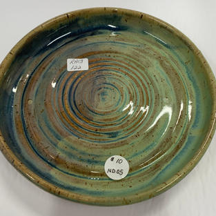 Pottery Bowl 122 - Top View