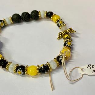 Angel Bracelet - Yellow / White / Black