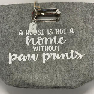 A House Is Not A Home Without Paw Prints - Doggie Tote