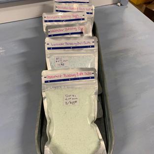 Bubbling Bath Salts - 4 oz