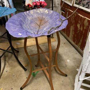 Table - Purple Cement Leaf