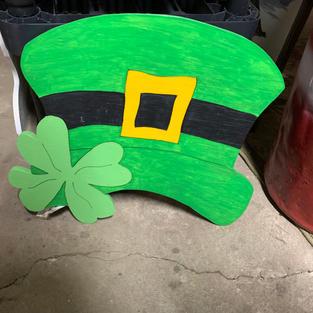 St. Patty Day Hat