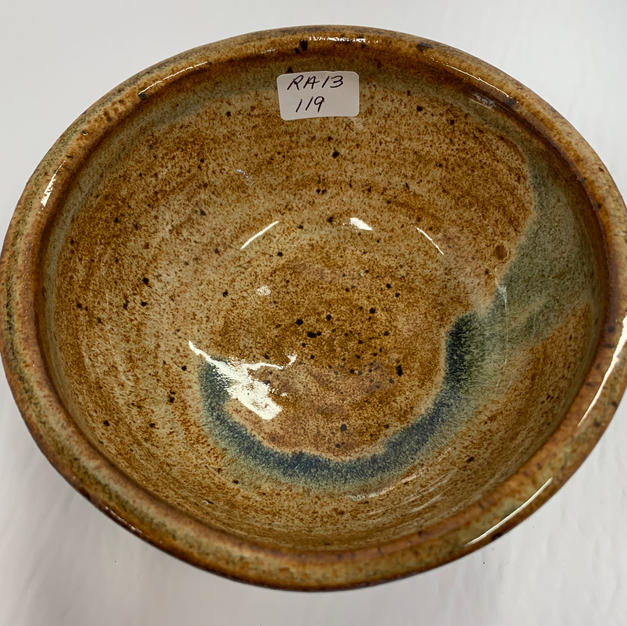 Pottery Bowl 119 - TOP VIEW