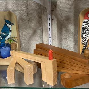 Wood & Animal Art