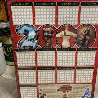 2020 Coca-Cola Calendar