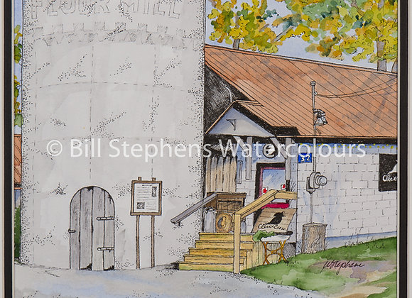 Original Watercolour Painting - Old Mill, Dorchester