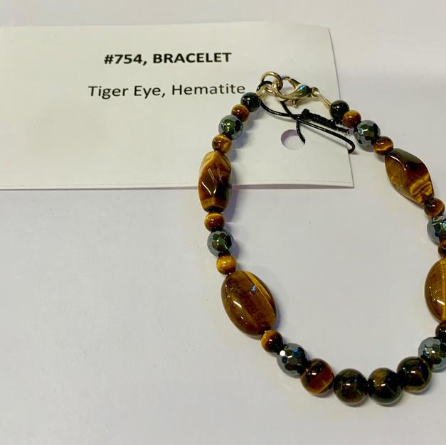 Chakra Bracelet - Tiger Eye