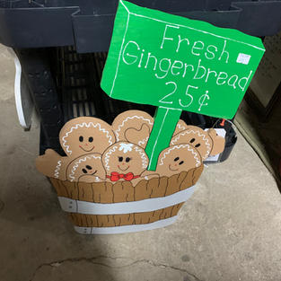 Gingerbread Basket