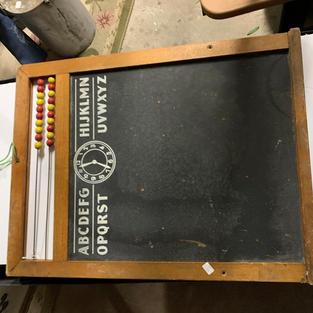 Chalkboard Abacus