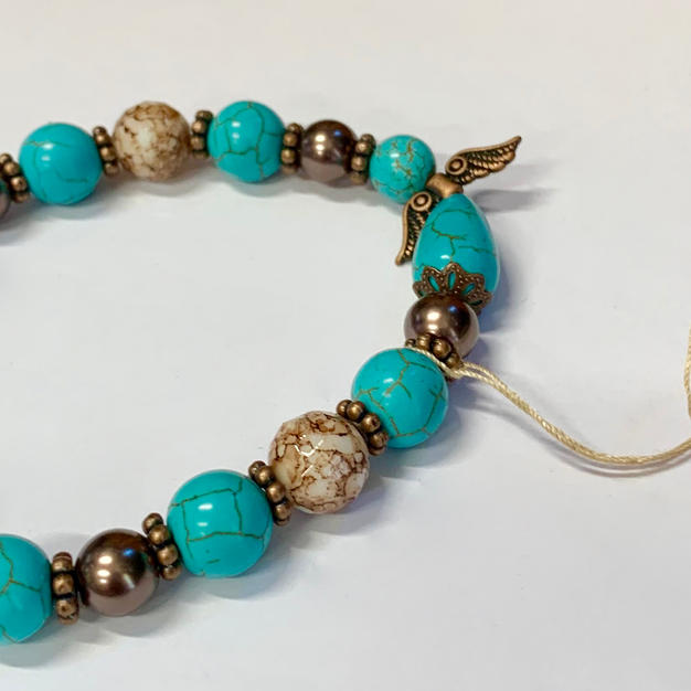 Angel Bracelet - Turqouise / Brown