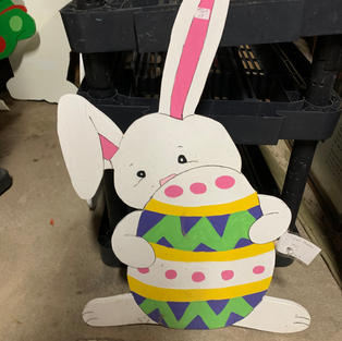Bunny & Green Egg