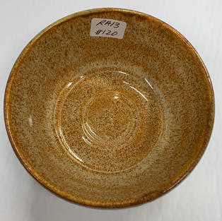 Pottery Bowl 120 - TOP VIEW