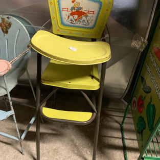 Yellow Doll High Chair