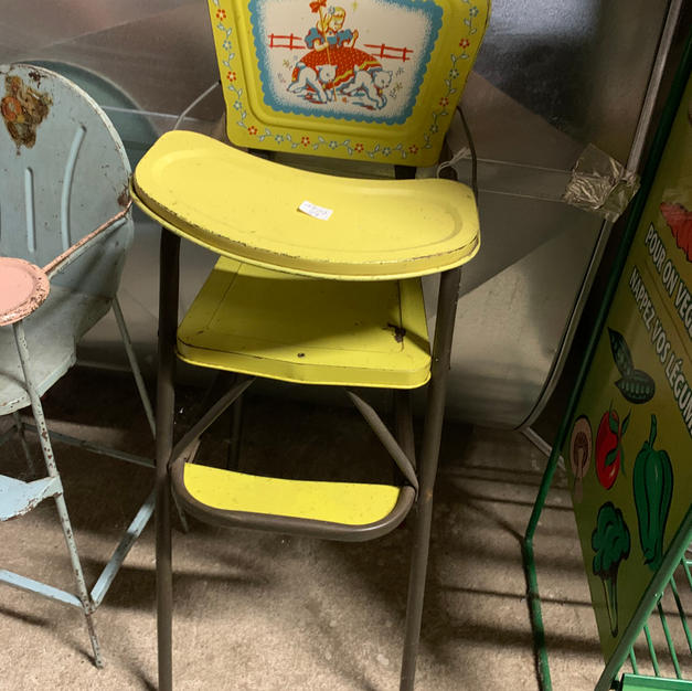 Yellow Doll High Chair