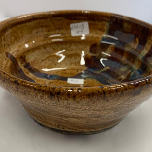Pottery Bowl #103 - SIDE VIEW