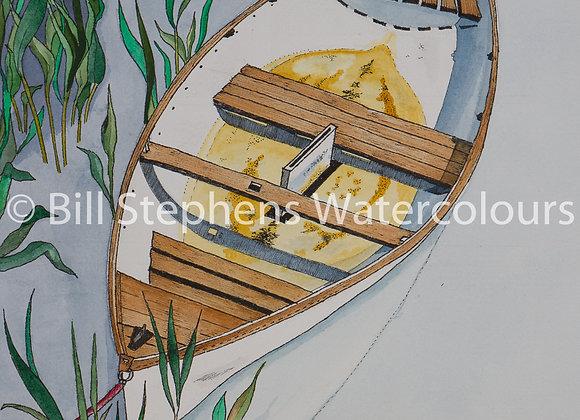 "Original Watercolour Painting -""Heeman's Pond"""