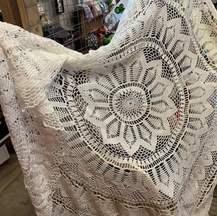 Intricate Circle Tablecloth