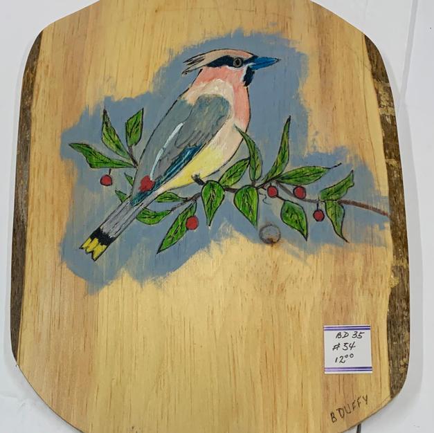 Bird Plaque