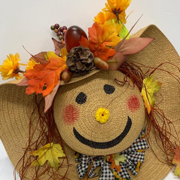 Scarecrow Straw Hat