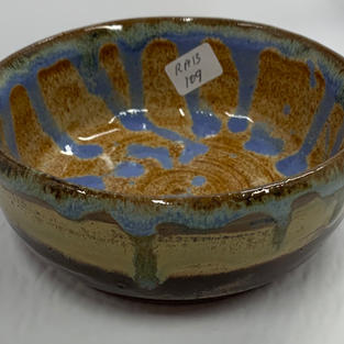 Pottery Bowl #109 - SIDE VIEW