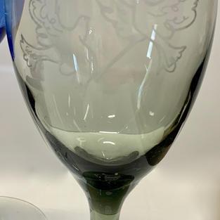 Close Up - Laser Engraved Glass