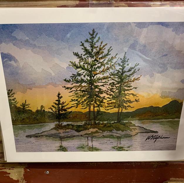 Georgian Bay Island - Print - (11x14)