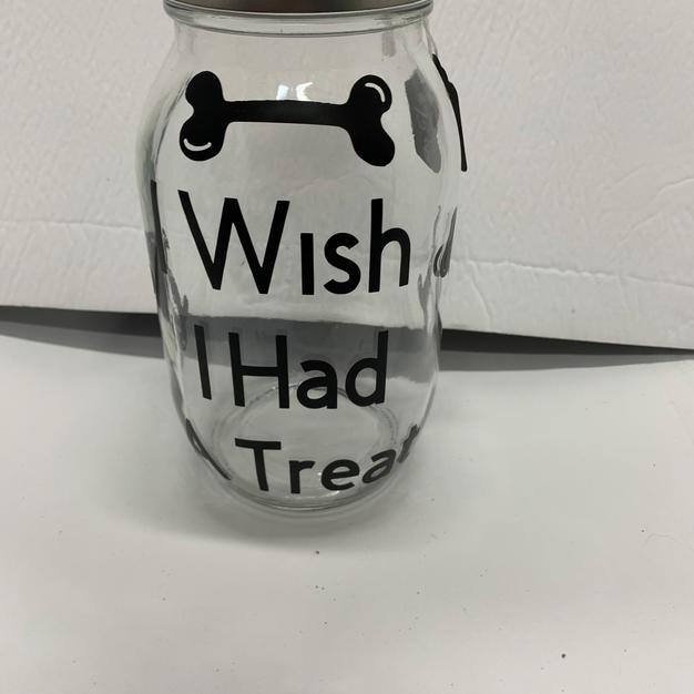 I wish I had a treat - Treat Jar