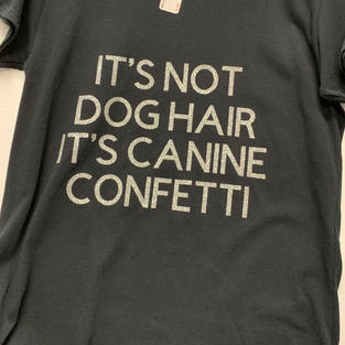 It's Not Dog Hair It's Canine Confetti