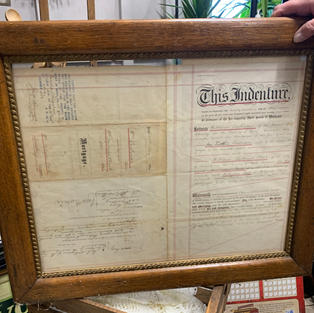 1800's Land Transfer Title Into Woman's Name