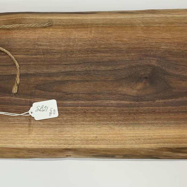 """Charcuterie Board - 25"""" Walnut"""