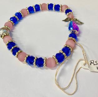 Angel Bracelet - Pink / Blue / Silver