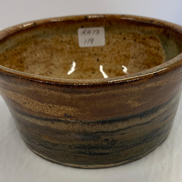 Pottery Bowl #119 - SIDE VIEW